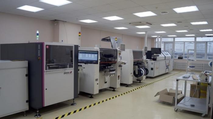 ВЕкатеринбурге запущена новая автоматизированная линия монтажа электронных SMD элементов