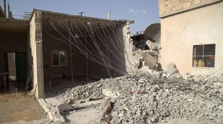 В HRW сообщили о гибели 84 мирных жителей при авиаударах коалиции в Сирии