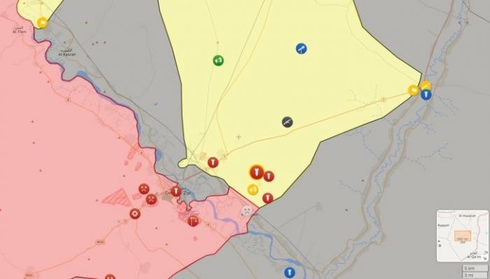Точечные удары ВКС России по не сражающимся с ИГИЛ курдам