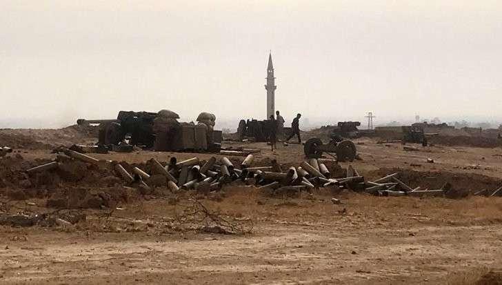 Сирия: Русские военные возвели мост через Евфрат для переброски техники