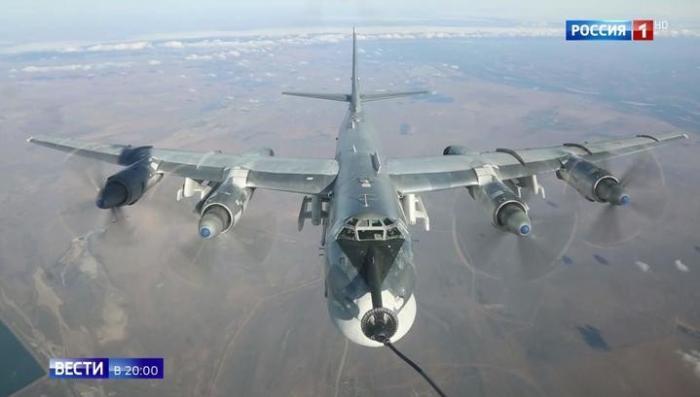 Сирия: Ту-95-МС, пролетев 7 тысяч километров, внезапно ударили по американским наёмникам