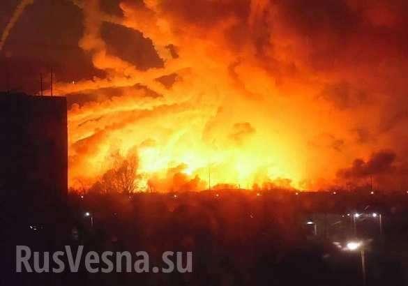 Калиновка больше Балаклеи: взрывы будет слышно даже в Киеве | Русская весна