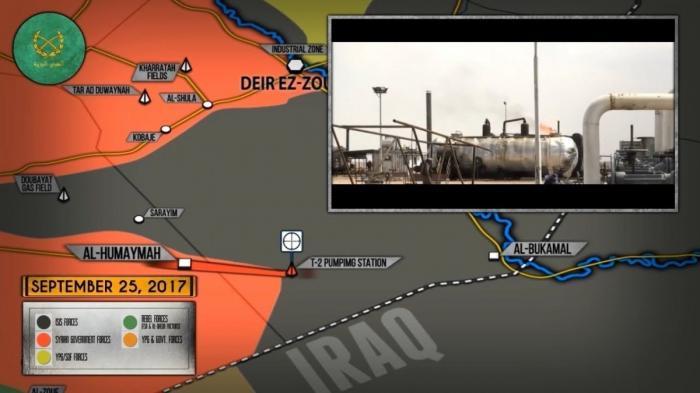 Сирия: правительственная армия «дожимает» наёмников США у границы с Ираком