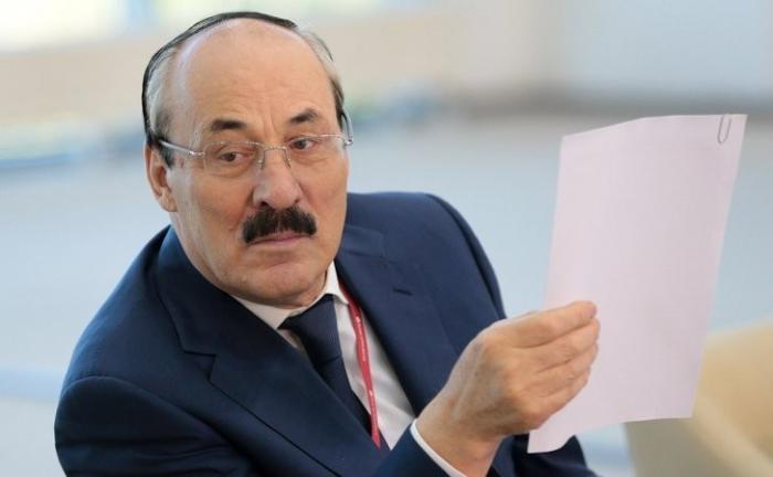 Глава Дагестана написал заявление об отставке