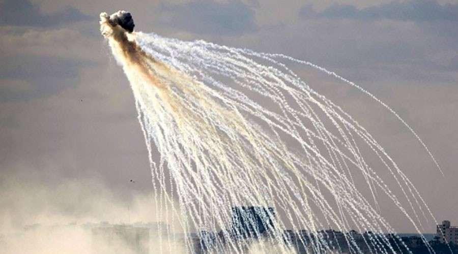 Сирия: коалиция бандитов нанесла авиаудары с применением белого фосфора