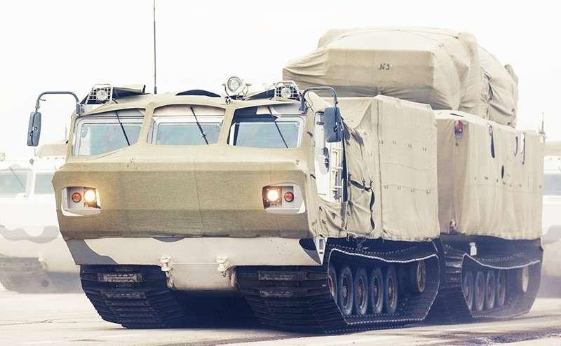 Русский вездеход ДТ-30п «Витязь» – самый проходимый сухопутный транспорт на планете