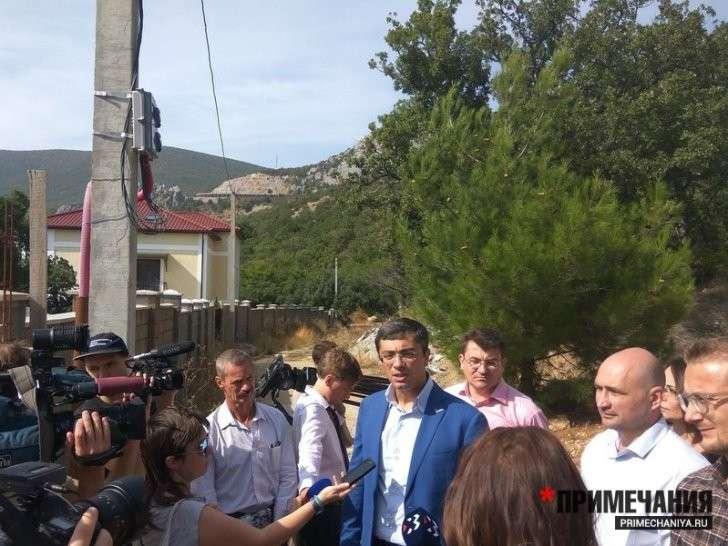 В Севастополе чиновникам начистили урочище?
