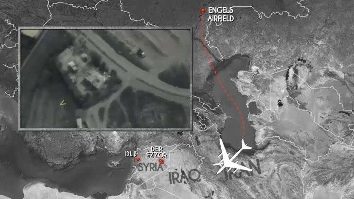 Сирия: ВКС России нанесли удары крылатыми ракетами по наёмникам США
