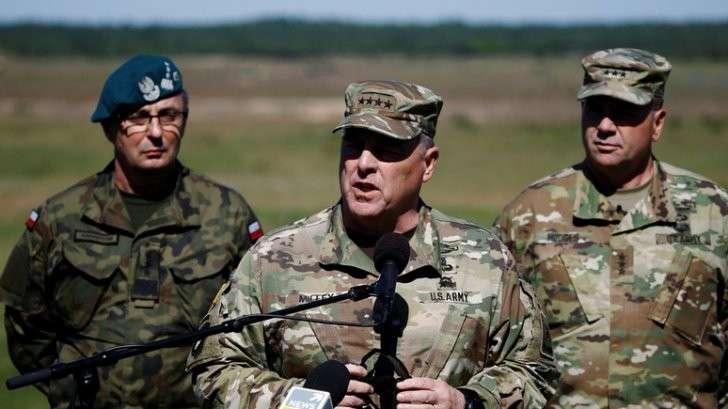 FAZ: генерал НАТО напомнил России, что на дворе не XVIII век