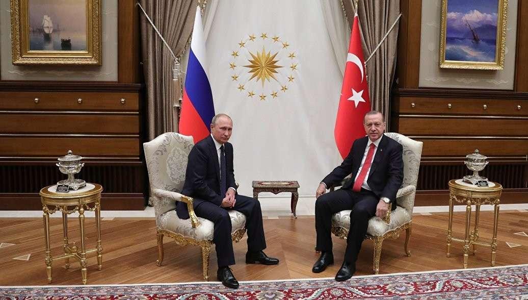 Встреча Владимира Путина и Реджепа Эрдогана проходила более чем полтора часа