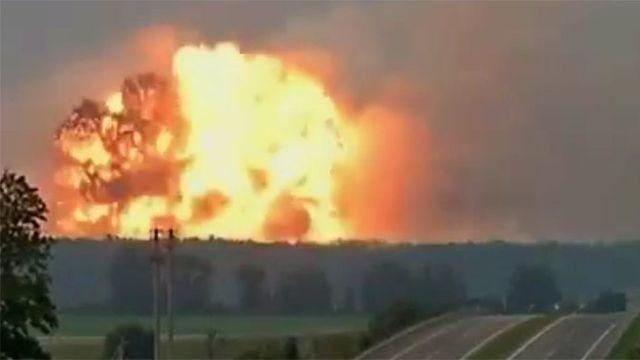 Зачем Украина взорвала склады боеприпасов в Калиновке