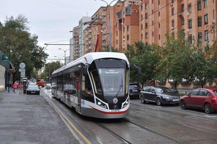 «Трансмашхолдинг» поставил в Москву 100 трамвайных вагонов «Витязь-М»
