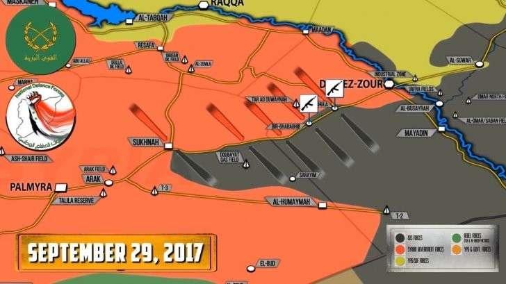 Сирия: атаки наёмников США на дорогу снабжения