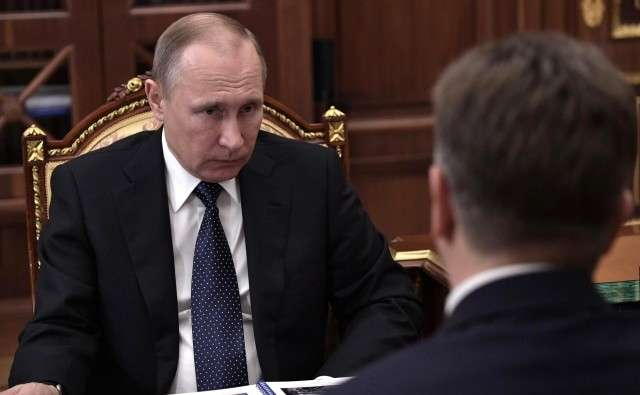 Встреча Владимира Путина с Максимом Соколовым