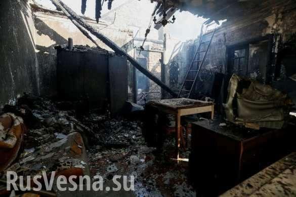 Калиновка: пожар потушен, боеприпасы продолжают рваться | Русская весна