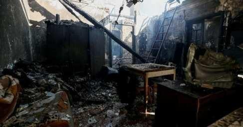 Калиновка: пожар потушен, боеприпасы продолжают рваться
