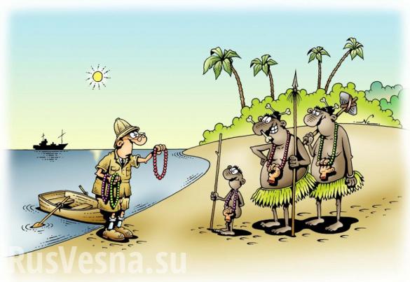 Типичная Украина: нелегальные добытчики янтаря взяли взаложники полицейского | Русская весна