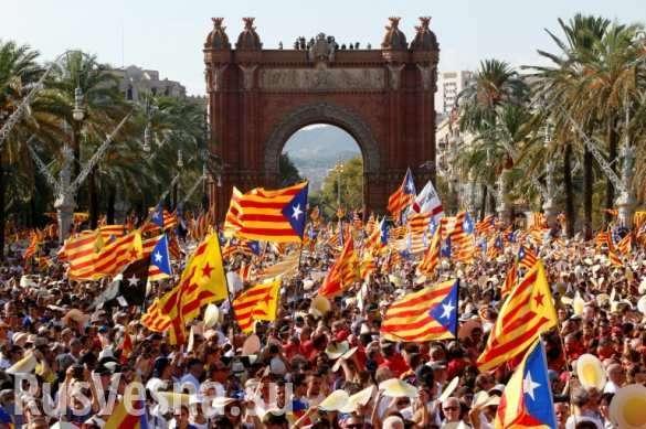 Каталония: «Крым же ушел! Мы тоже добьемся своего!» – провинция к цветной революции готова | Русская весна