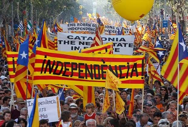 Каталония: «Крым же ушел! Мы тоже добьемся своего!» – провинция к цветной революции готова