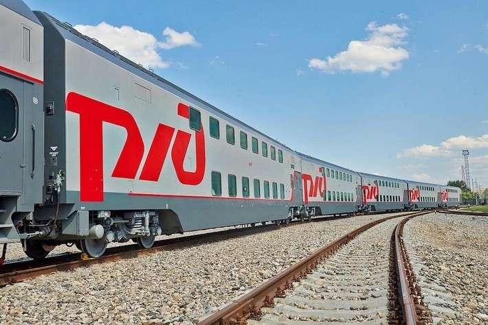 Двухэтажный поезд начинает курсировать между Москвой иКисловодском