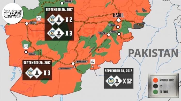 Афганистан: сотрясается от взрывов смертников талибана