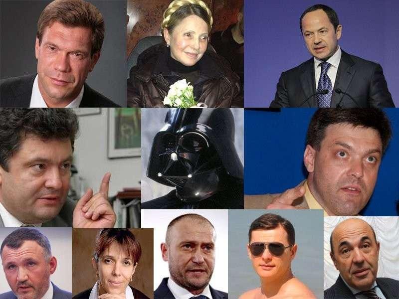 Распад Украины на вотчины олигархов