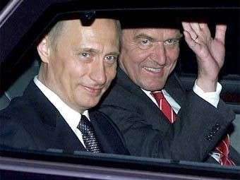 Агент Владимира Путина Герхард Шрёдер заступил на боевое дежурство