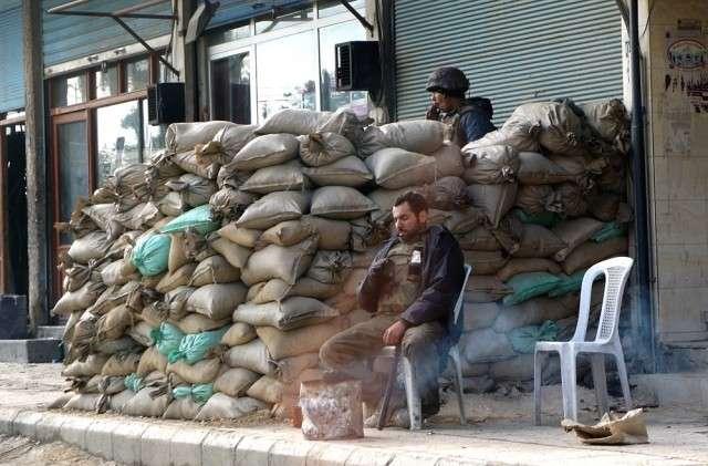 Сирийский блокпост