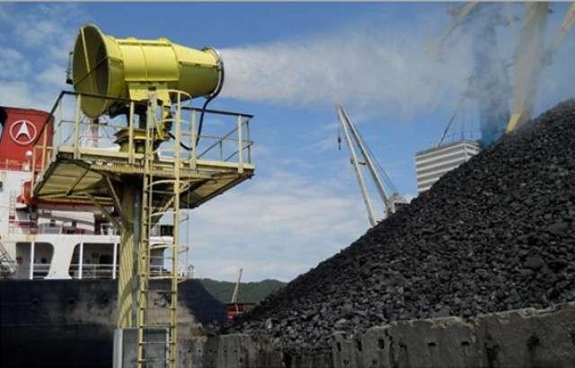Строительства комплекса перегрузки угля «Лавна»