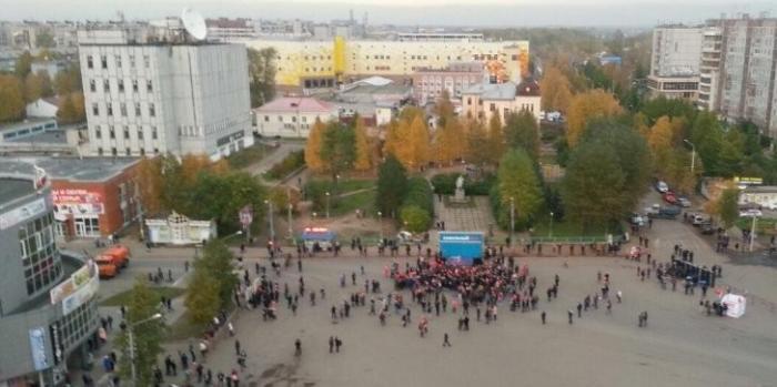 Архангельск: власти помогли Лёше Навальному устроить митинг