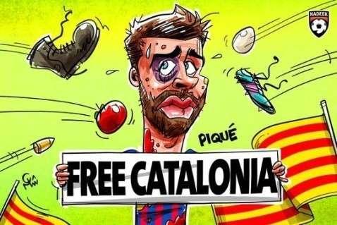 Юмор помогает нам пережить смуту: пришла и оторвала голову нам каталонская весна