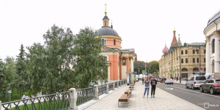 Как изменились улицы Москвы вокруг парка «Зарядье»