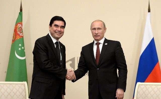 Что будут обсуждать Путин и Бердымухамедов в Ашхабаде?