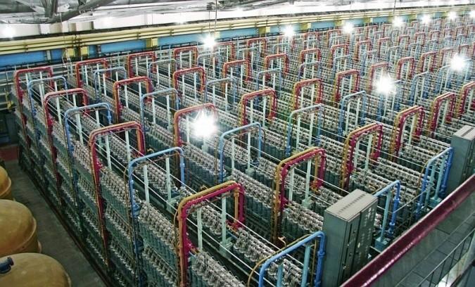 В России начато производство газовых центрифуг для обогащения урана поколения 9+