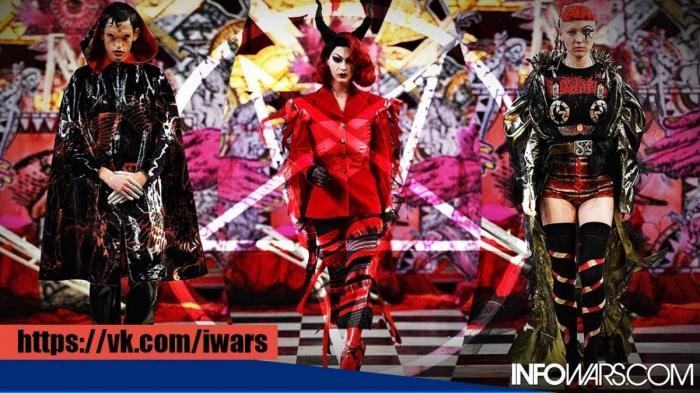 Лондон: мода в стиле сатанизма прошла в католической церкви