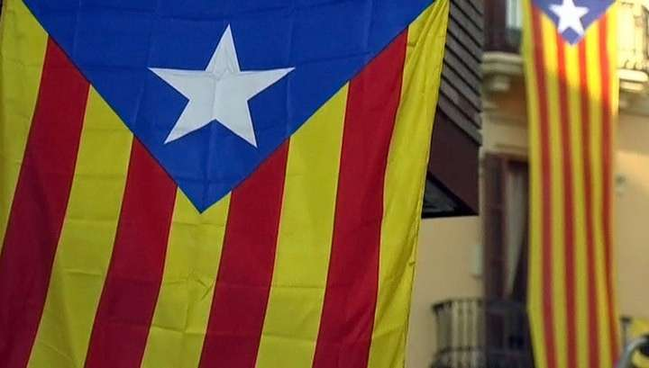 Каталония: всеобщую забастовку проводят сепаратисты