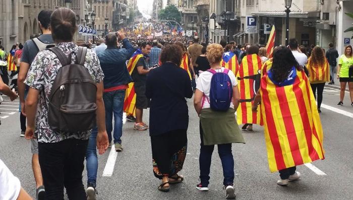 Владимир Путин назвал референдум в Каталонии внутренним делом Испании