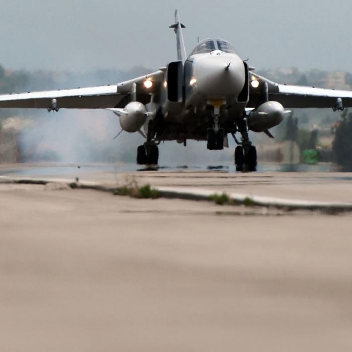 В Сирии ВКС РФ уничтожили центр подготовки наёмников ИГ