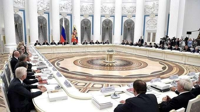 Совместное заседание Совета поразвитию физической культуры испорта инаблюдательного совета оргкомитета «Россия 2018»