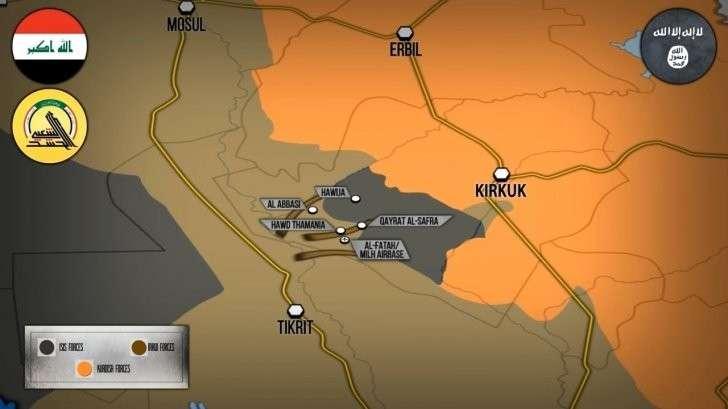 Сирия и Ирак:правительственные силы отбивают дорогу в Дейр эз Зор