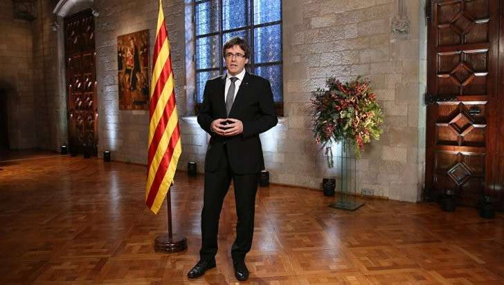 Глава Каталонии объявит о расчленении Испании в ближайшие дни