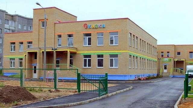 Новые детские сады открыты в Ярославской и Архангельской областях