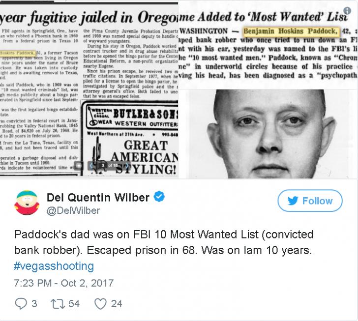 Шутер из Лас-Вегаса оказался фашиствующим либералом