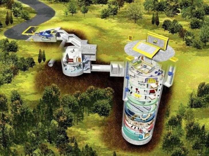 Россия: в коттеджных поселках строят VIP-бункеры