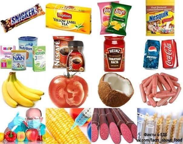 Паразиты активно кормят народ ГМО-продуктами