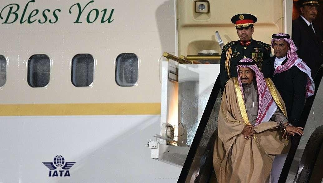 В Москву прибыл с визитом король Саудовской Аравии