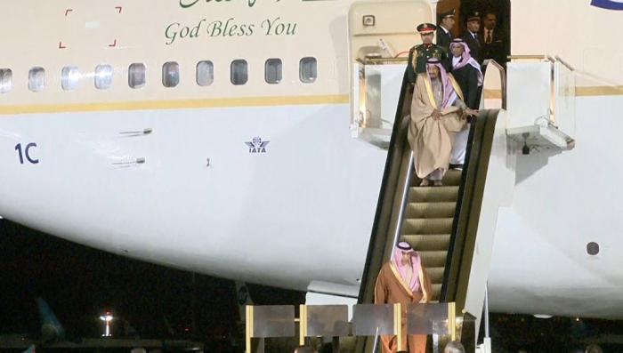 Главный спонсор террора, король Саудовской Аравии застрял по дороге к Кремлю. Это знак!