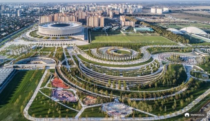 В России случилось ещё одно чудо. В Краснодаре построили невероятно крутой парк
