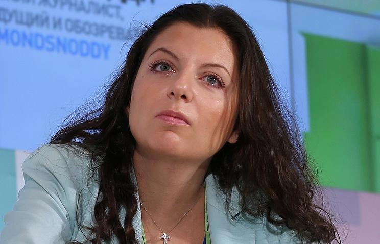 Симоньян рассказала об информационной травле экспертов, выступающих в эфире Russia Today