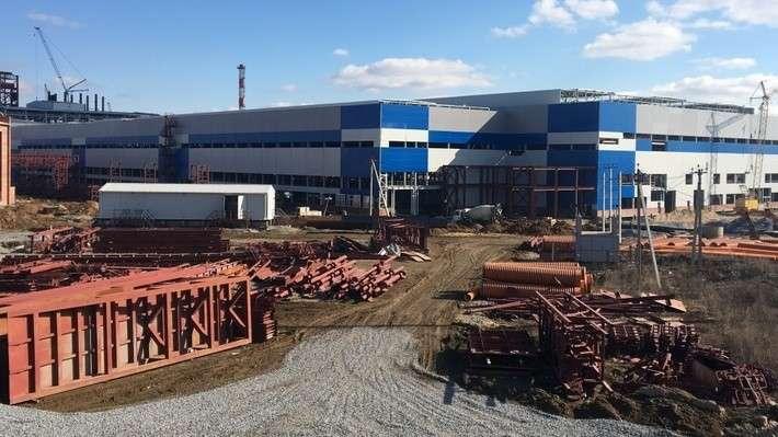 Ход строительства нового металлургического завода вТульской области